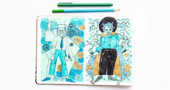 Sketchbook projesi