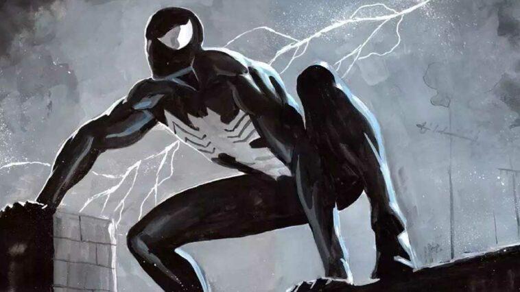 Spider-Man Siyah Kostüm