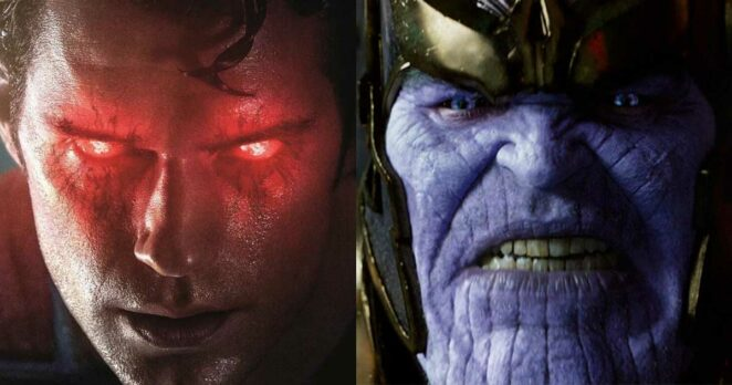 Superman vs Thanos