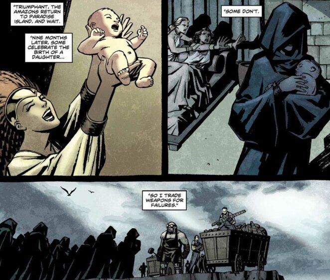 Wonder Woman Themyscira erkek bebekler
