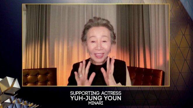 BAFTA En İyi Yardımcı Kadın Oyuncu: Yuh-Jung Youn (Minari)