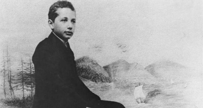 Albert Einstein Çocukluk