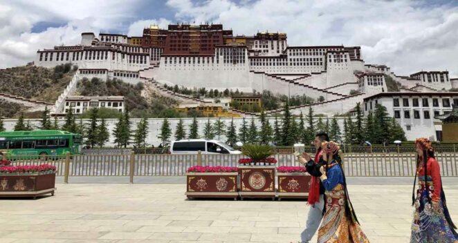 Antik Tibet Kitapları kütüphane