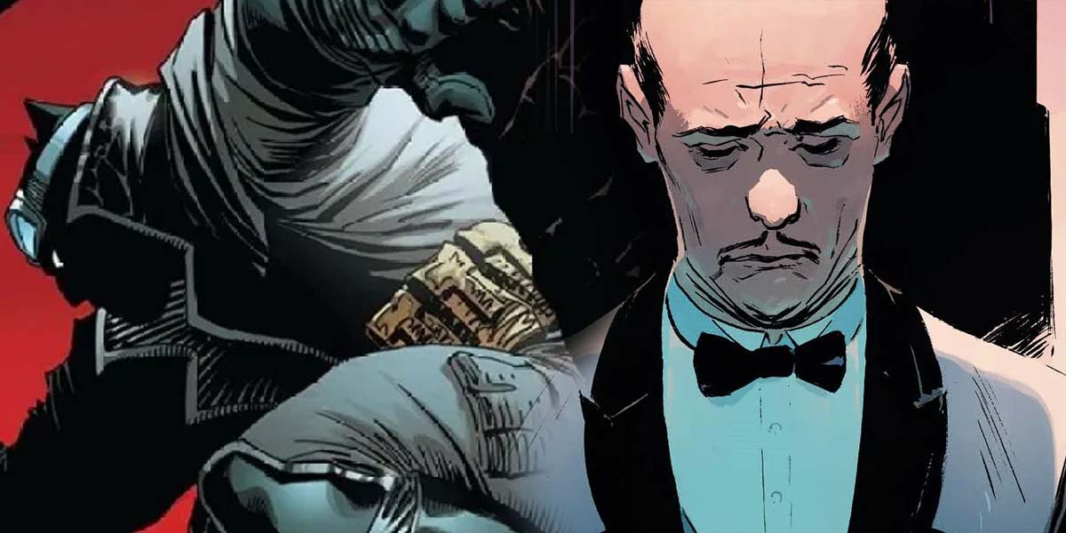 batman the detective Alfred Pennyworth