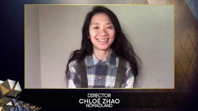 En İyi Yönetmen: Chloé Zhao (Nomadland)