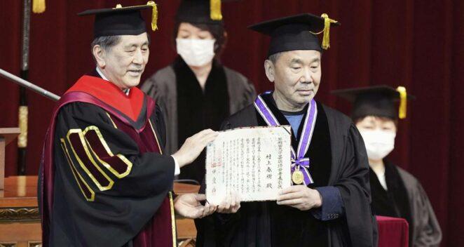 haruki murakami tören
