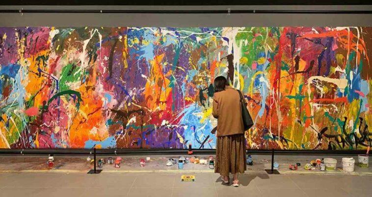 katılımcı sanat eseri boyama güney kore