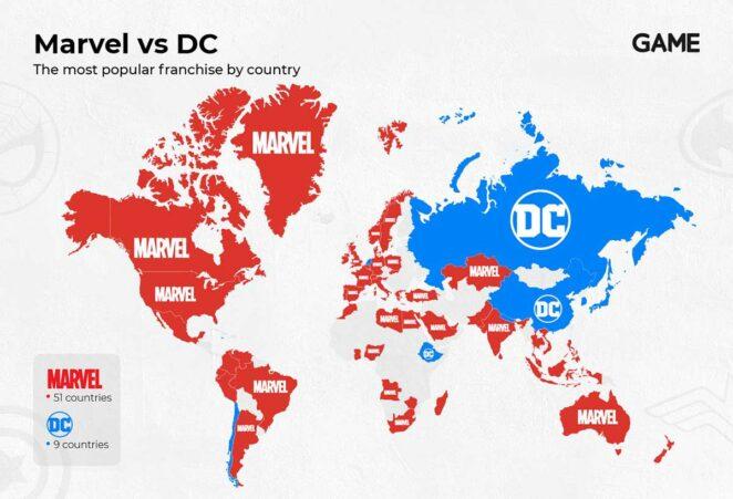 Marvel vs DC: En Çok Aratılan Evren Hangisi?