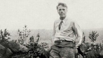Robert Frost şiir el yazması
