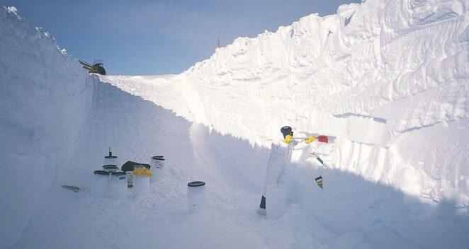 uzay tozu Antarktika