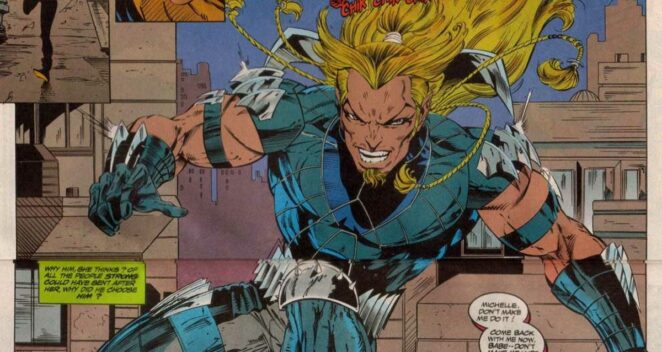 Adam X Zırh Marvel Comics