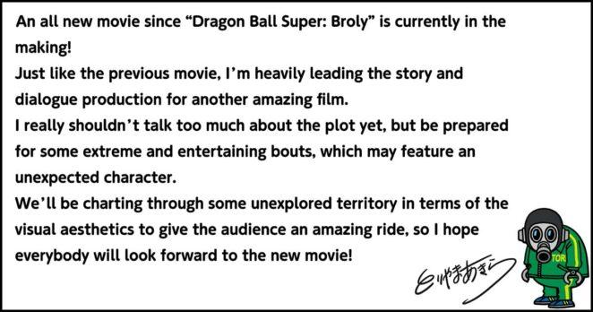 Akira Toriyama Dragon Ball filmi