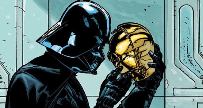 Darth Vader C3PO Star Wars: War of the Bounty Hunters