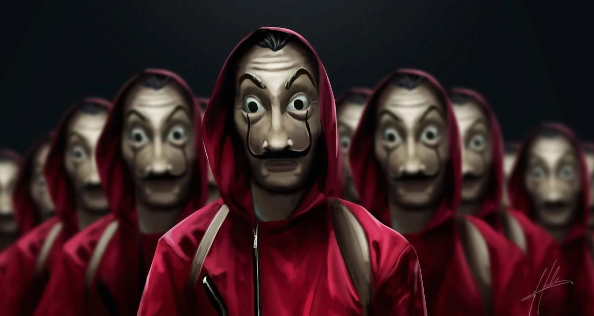 La Casa De Papel - La Hay De Maske