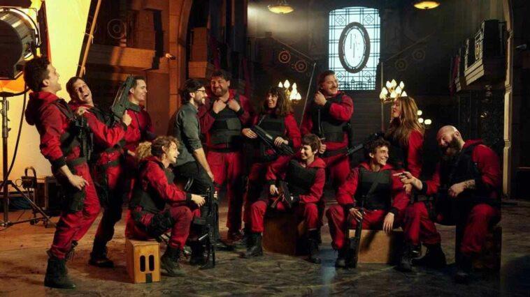 La Casa de Papel 5. Sezon Çekimleri Netflix Final