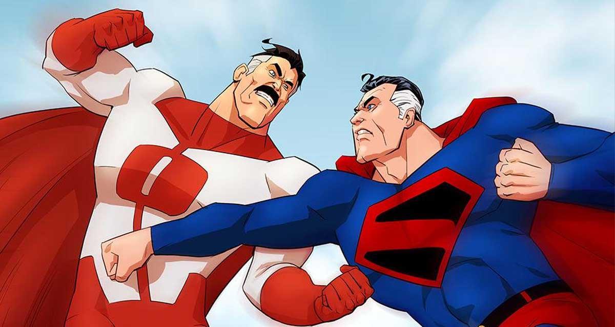 Superman vs Omni-Man