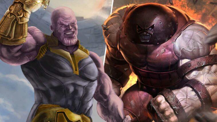 Thanos vs Juggernaut