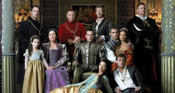 The Tudors tarihi diziler