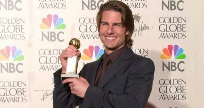2022 Altın Küre Ödülü Tom Cruise