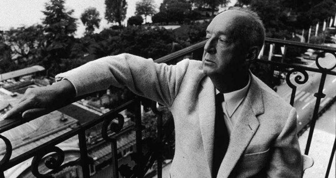 Vladimir Nabokov yazar kapak