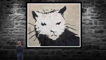 Banksy Eseri Beyaz Saray Sıçanı