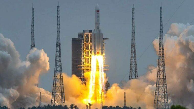 Çin Roketi Long March 5B, Hint Okyanus