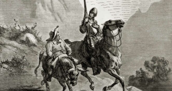 Don Kişot edebiyat