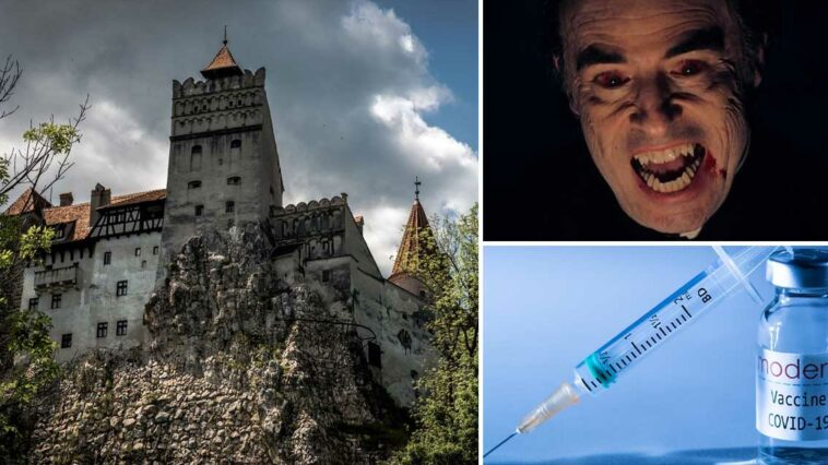 Drakula Kalesi Koronavirüs Aşı Merkezi