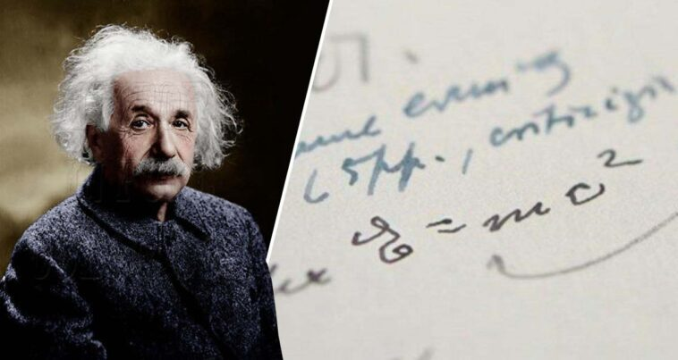 E=mc²: Albert Einstein Mektup açık artırma