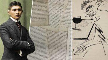 franz kafka eserleri mektupları çizimleri