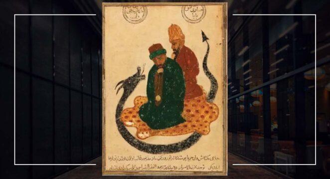 Hacı Bektaş-ı Veli resim