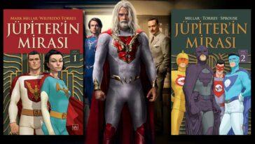 Jupiter's Legacy kitapları Jüpiter'in Mirası Çizgi Roman Netflix