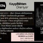 Locarno Dilencisi - Heinrich von Kleist | Haftanın Kitabı #174