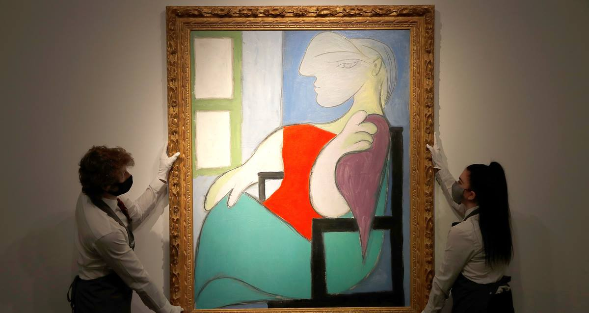 picasso tablosu Marie-Therese