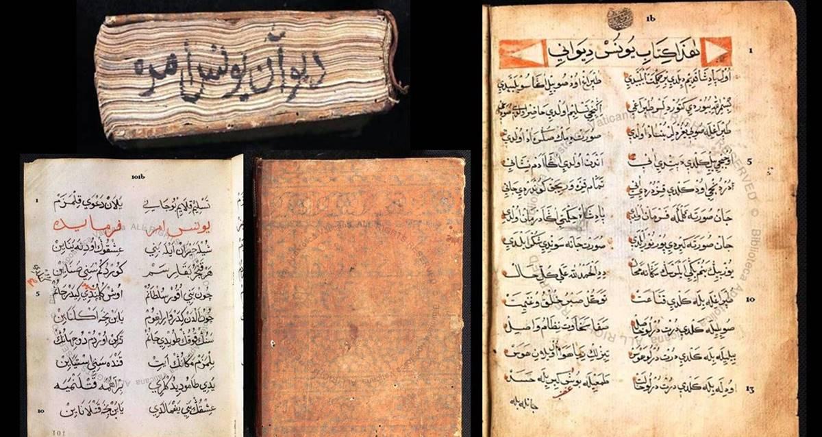 Yunus Emre Divanı Yeni Vatikan Kütüphanesi Keşif