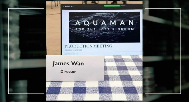 Aquaman and the Lost Kingdom james wan