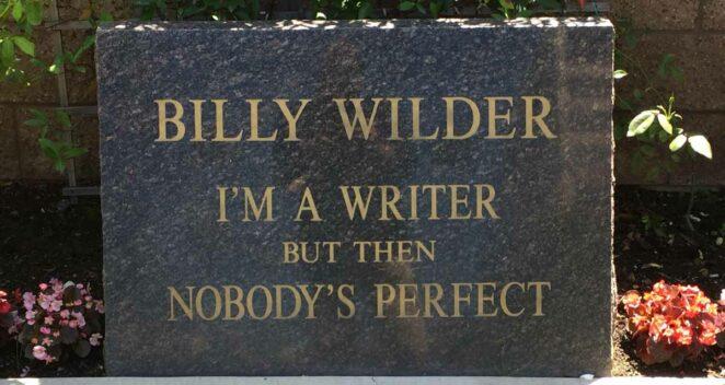 Billy Wilder mezarı
