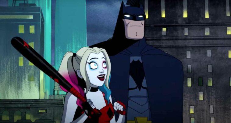 Harley Quinn dizisi oral seks sahnesi batman catwoman