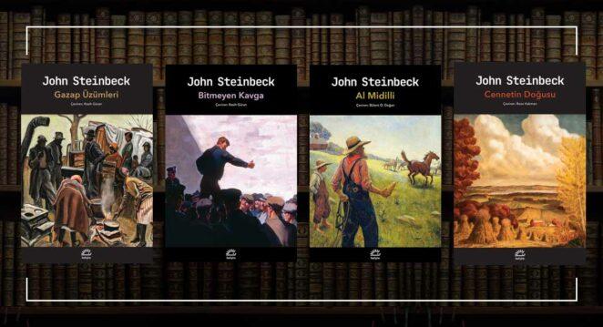John Steinbeck kitapları yeni yayınevi