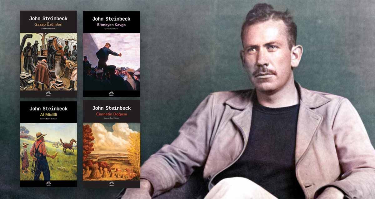 John Steinbeck kitapları iletişim yayınları