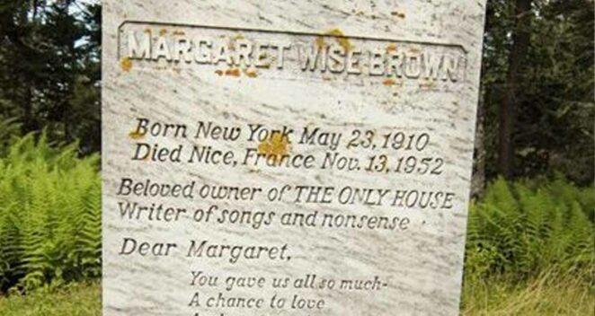 Margaret Wise Brown mezarı