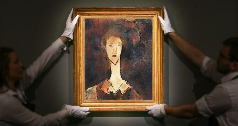 Modigliani tablosu sır bir kızın portresi