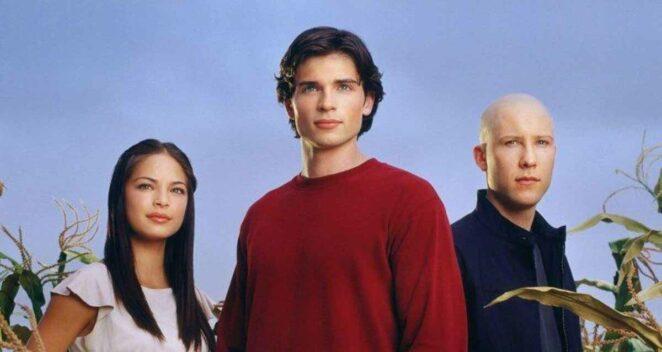 Smallville dizisi animasyon