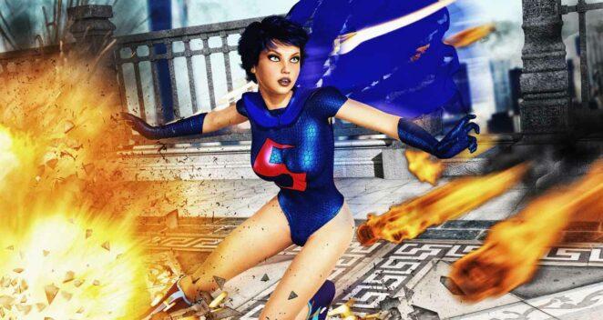 Supergirl superman kızı