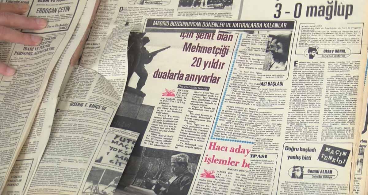 Atatürk Kitaplığı gazeteleri jilet