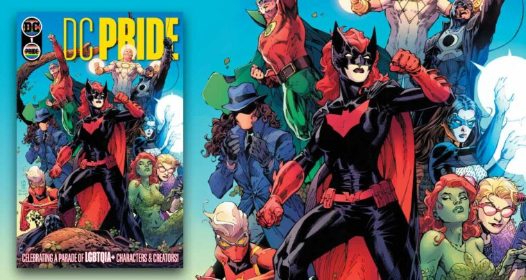 DC Pride Justice League Queer