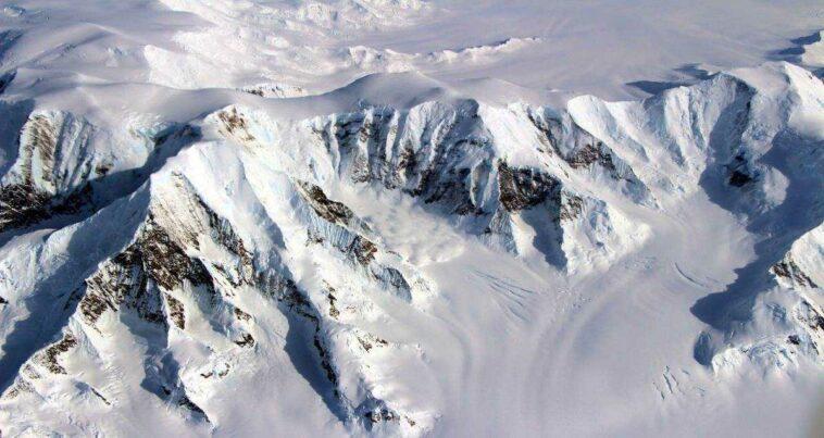 Dünya Yaşam İzi bulunmayan toprak Antarktika