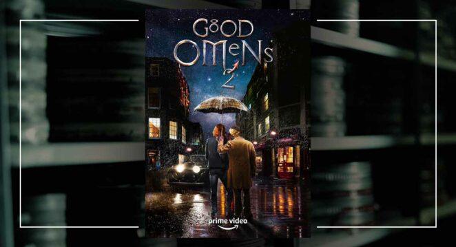 Good Omens 2. Sezon Afiş Amazon Prime