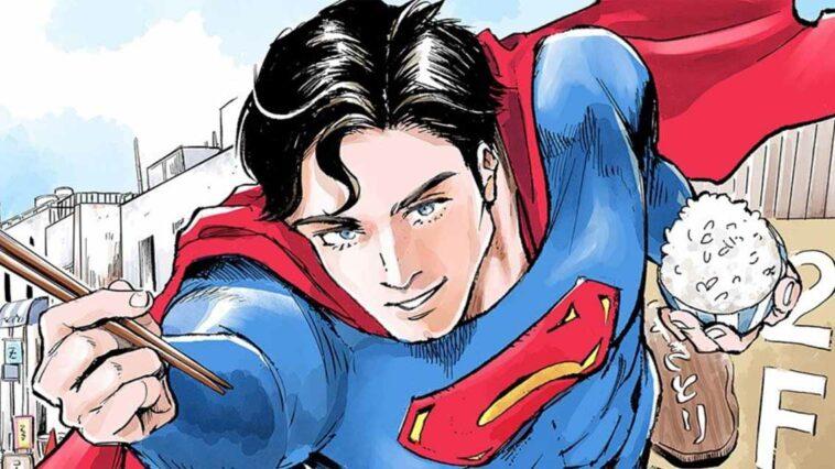 Superman vs Meshi manga