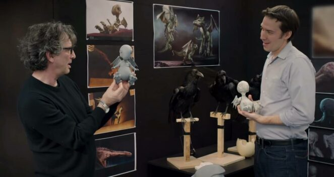 The Sandman Dizisi Video Neil Gaiman Netflix